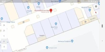 Navigate inside malls on Google Maps