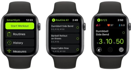 SmartGym Apple Watch Workouts App