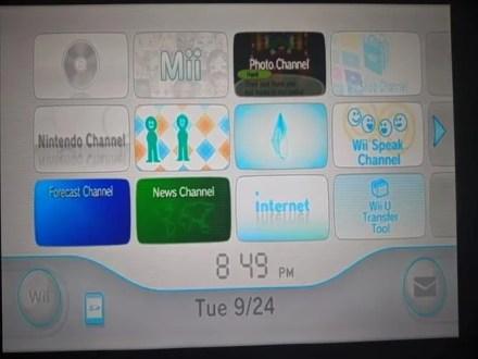 Wii Menu