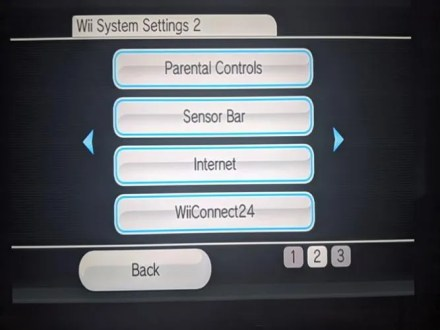 Wii Internet Settings