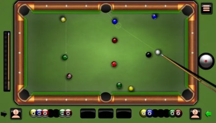 8 Ball Billiards Classic lets you play a classic game of pool with a friend on the same computer, taking turns for your shot