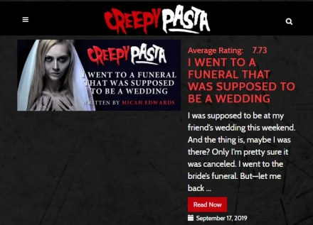 Creepypasta Site