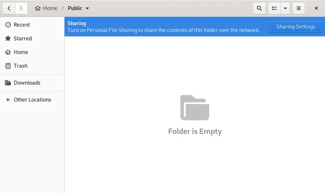 Personal File Sharing in Linux using Samba