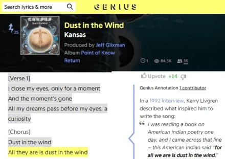 Genius Lyrics Website