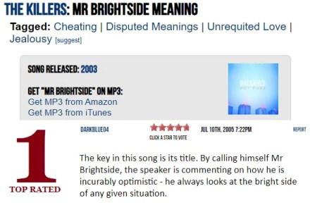 Lyric Interpretations Website