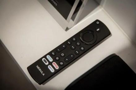 Amazon Nebula Soundbar Fire TV Remote