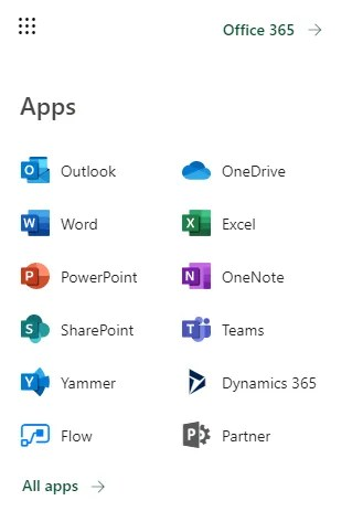 Office 365 Business Apps