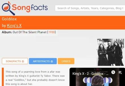 Songfacts Website