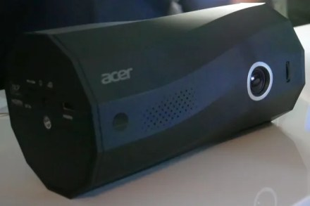 Acer C250i portable LED projector and speaker