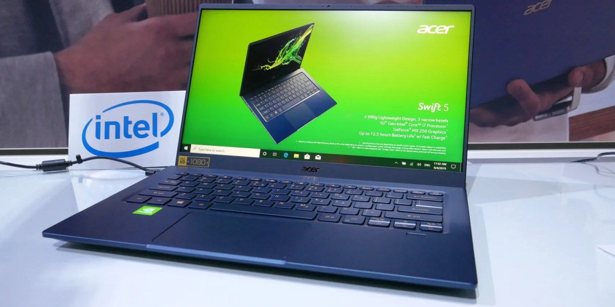Acer Swift 5 updated model launched at IFA 2019
