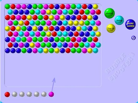 Bubble Shooter is one of the more basic takes on the format