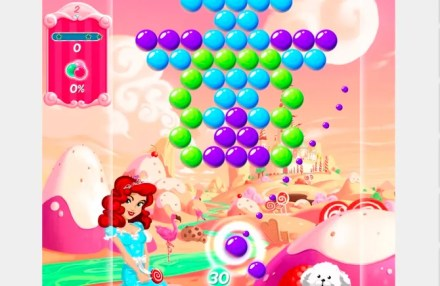 Candy Bubble might be the best-looking bubble shooter