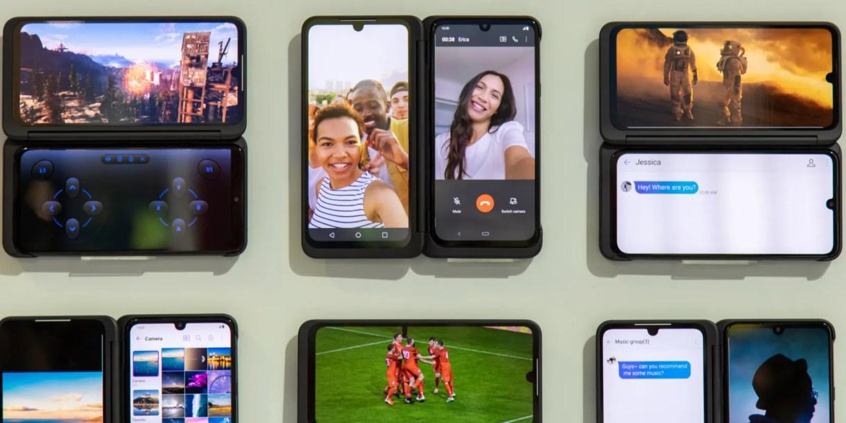 LG G8X ThinQ Dual Screen smartphone announced at IFA 2019