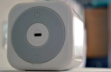 A USB type-C and Ethernet port are found in the Circle Home Plus