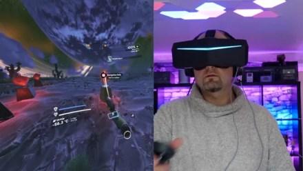 No Man's Sky in VR