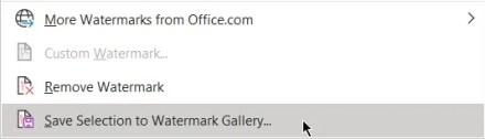 Save Watermark Gallery