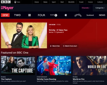 bbc free online tv channels
