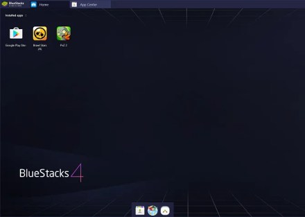 bluestacks android app player user interface