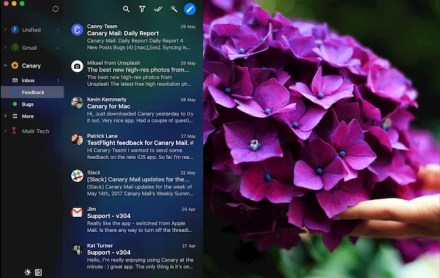 Canary mail inbox Mac app