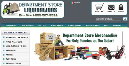 department store liquidations closing sales