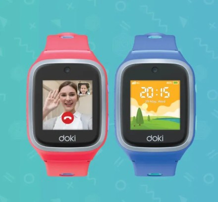 DokiPal Kids GPS watch