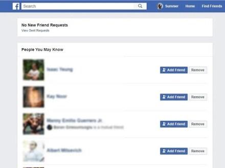 Facebook etiquette - Friend requests