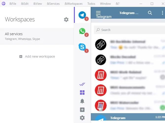 ferdi multi messenger telegram alternative