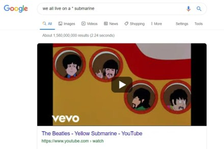 google wildcard when you don't know what to search