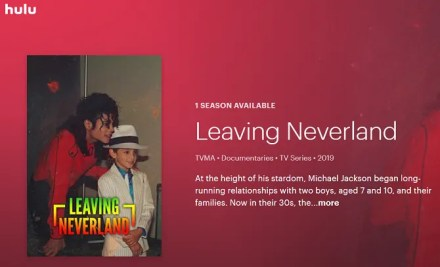 hulu leaving neverland free trial