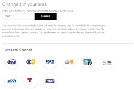 hulu watch local TV channels list