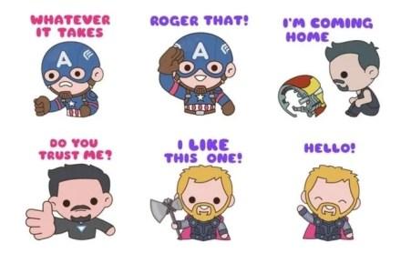 marvel avengers stickers app