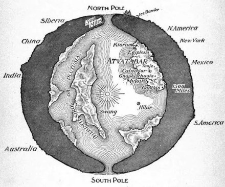 The Hollow Earth conspiracy theory