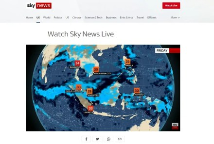 sky news free internet tv channel
