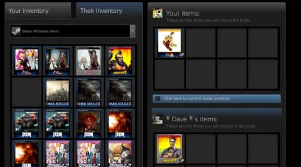 Trading Steam cards