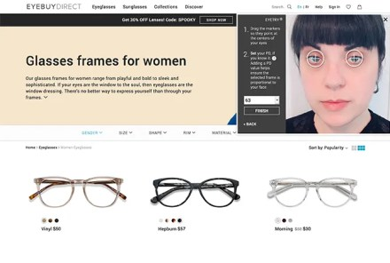EyeBuyDirect Try Glasses Online