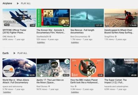 youtube free documentaries