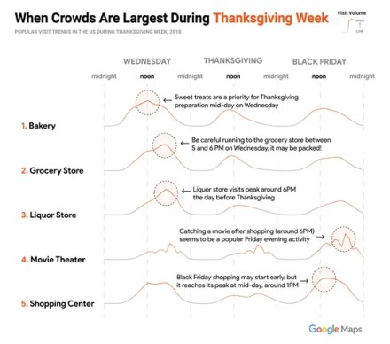 Map Thanksgiving from Google