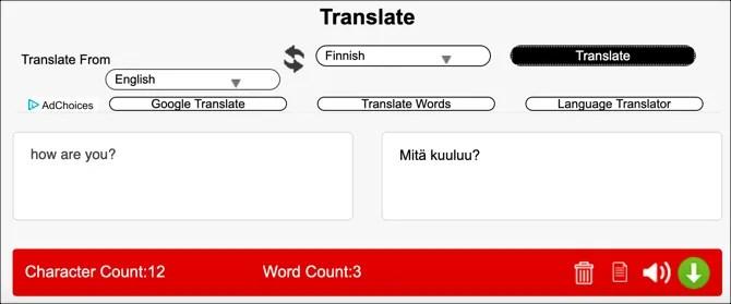 Translatedict