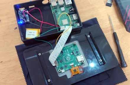 Carefully attach the wires to your Raspberry Pi tablet