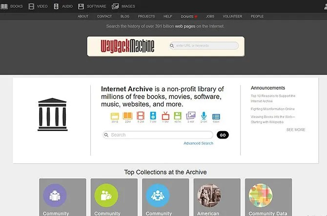 legal torrents - the internet archive