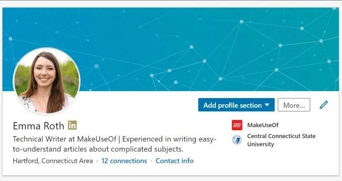 LinkedIn Premium Profile Badge