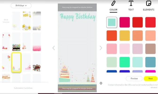 Snapchat Создать дизайн фильтра