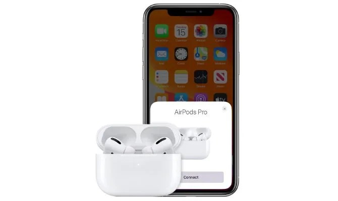 Real AirPods Pro connecting with iPhone