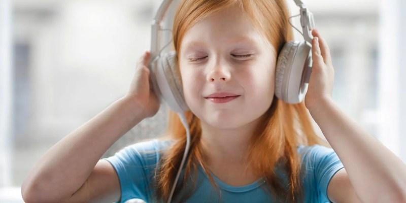 子供たち - ヘッドフォン
