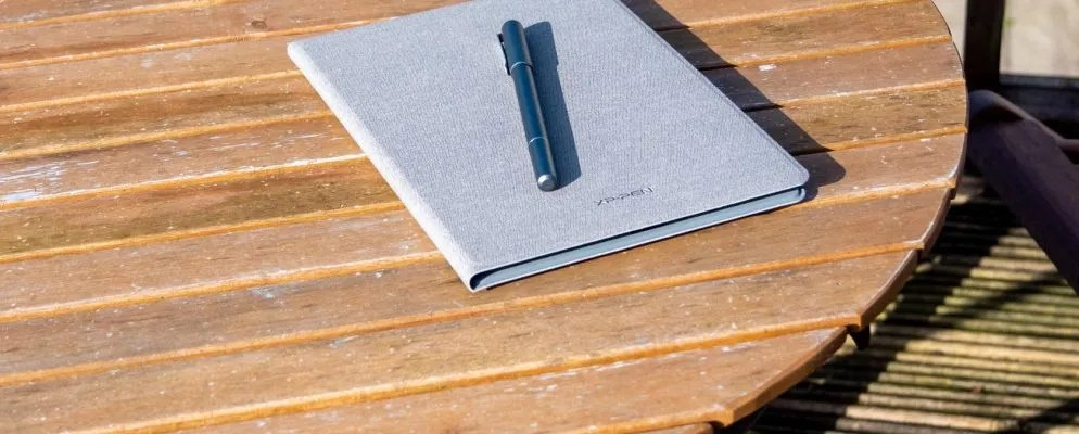 XP Pen Note Plus is a Magical Paper Notepad That Scans Everything You Write