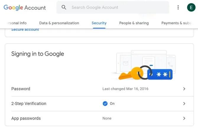 Резервное копирование сообщений Android Настройки безопасности Google