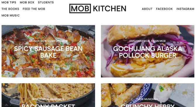 Mob Kitchen makes cooking simpler for students and beginners with recipes for less than 10 bucks