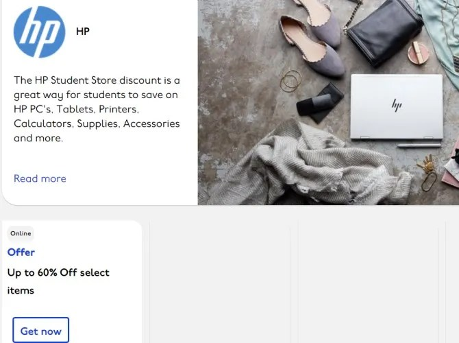 أجهزة الكمبيوتر المحمولة HP Student Discount