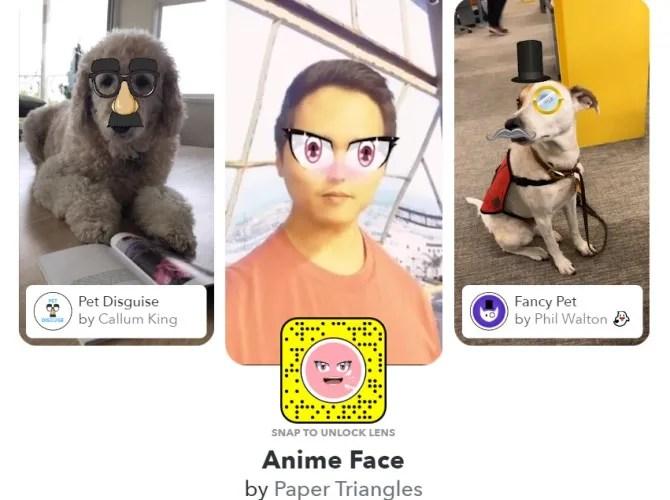 Разблокировка Snapchat Линзы Snapchat Сообщество