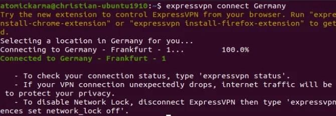 Как установить VPN-клиент на Ubuntu Linux vpnp linux vpn expressvpn client